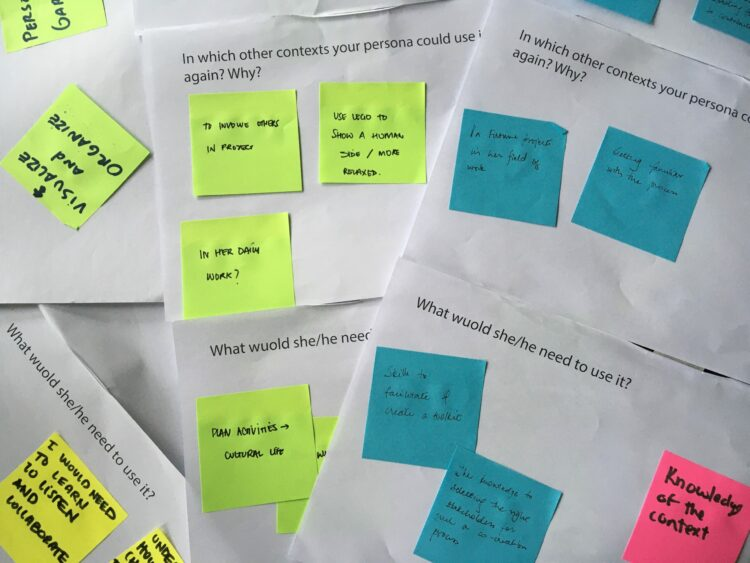 Templates for HPM seminar workshop used to investigate aspects that facilitate participants' acquisition of tools and methods from participatory activities